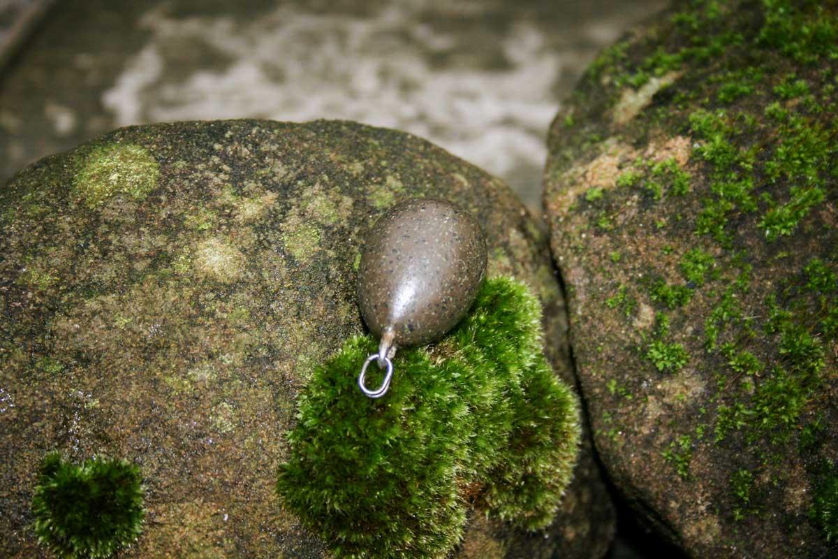 Plumb cu un inel despicat pt monturi cu plumb pierdut