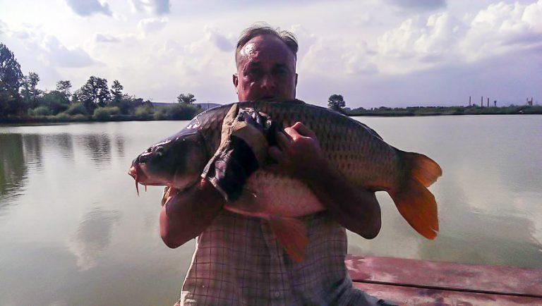Capturi noi de crap pe lacul Pleasa