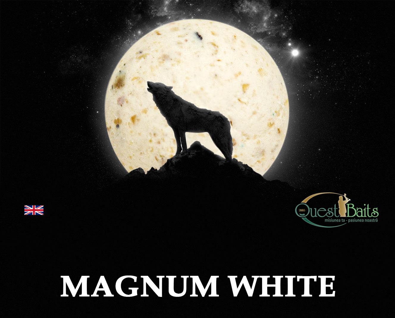Boilies Magnum White - Reclama