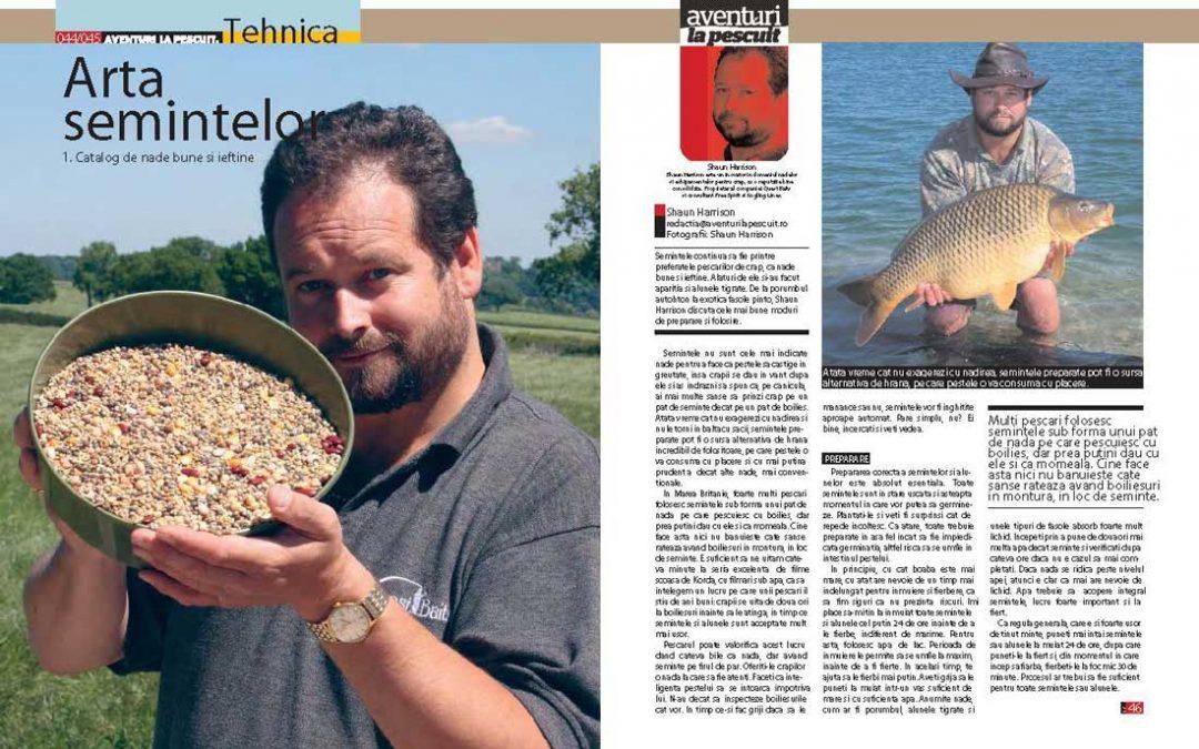 Arta semințelor: Catalog de nade ieftine și bune