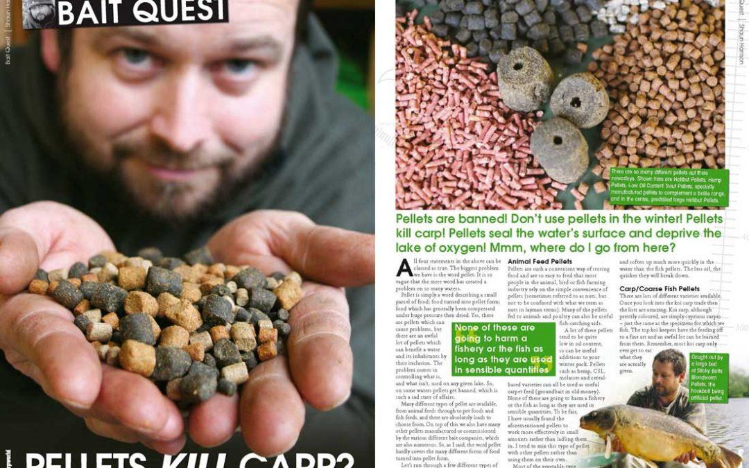 Pellets kill carp?