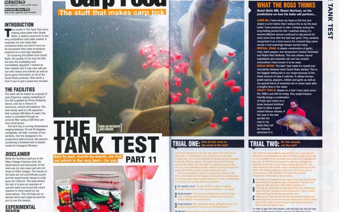 """Quest Baits Tested – """"What a reaction!"""""""