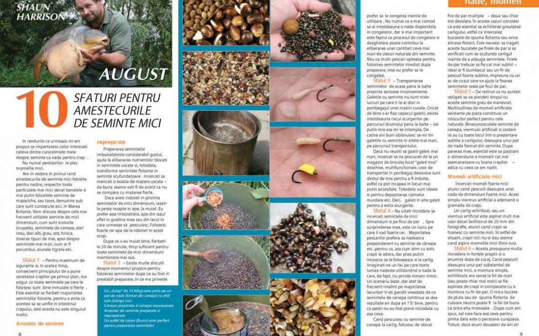 10 Sfaturi pentru amestecurile de semințe mici