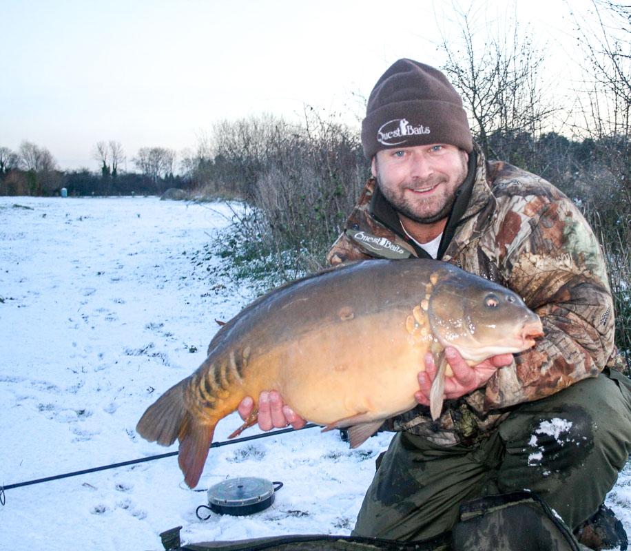 crap pescuit iarna