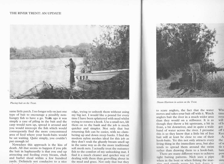 capitolul pescuit la crap pe raul Trent